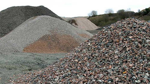 We supply a range of aggregates