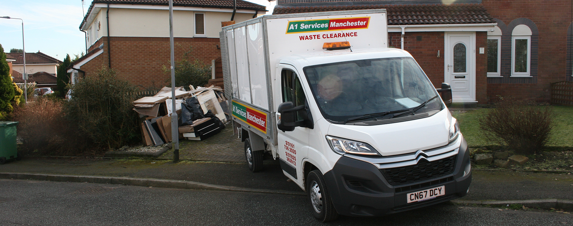 Purpose built waste collection tipper truck