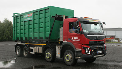 Ro Ro Hook Container truck